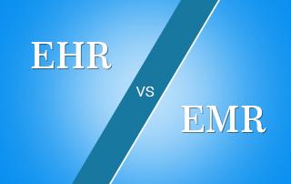 EHR vs EMR