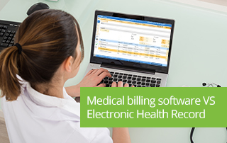 Medical billing software VS Electronic Health Record