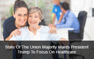 Majority wants President Trump to focus on healthcare