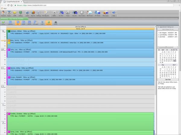 Chartperfect Ehr Software Cardiology Ehr Emrsystems